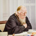 Прот. Дмитрий Смирнов на общем собрании духовенства Северного и Северо-Западного Викариатств