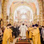 Божественная Литургия в храме Рождества Христова в Митино