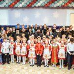 После службы Епископ Бронницкий Парамон посетил Рождественский утренник