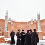 Завершение осмотра Преосвященным Парамоном, епископом Бронницким храмов Спасского благочиния Северо-Западного викариатства