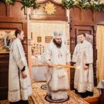 Управляющий викариатством совершил Малое освящение и Литургию в храме св. равноап. кн. Владимира в Митине