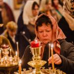Божественная Литургия в храме святого великомученика и целителя Пантелеимона