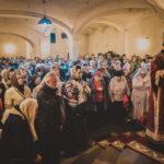 Божественная Литургия в храме Новомучеников и Исповедников Российских в Строгине