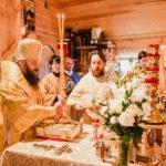 Архиерейское богослужение в храме вмч. Феодора Тирона в Хорошеве