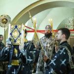 Божественная Литургия Преждеосвященных Даров в храме Покрова Пресвятой Богородицы в Братцеве
