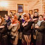 Божественная Литургия Преждеосвященных Даров в храме святителя Николая в Щукине