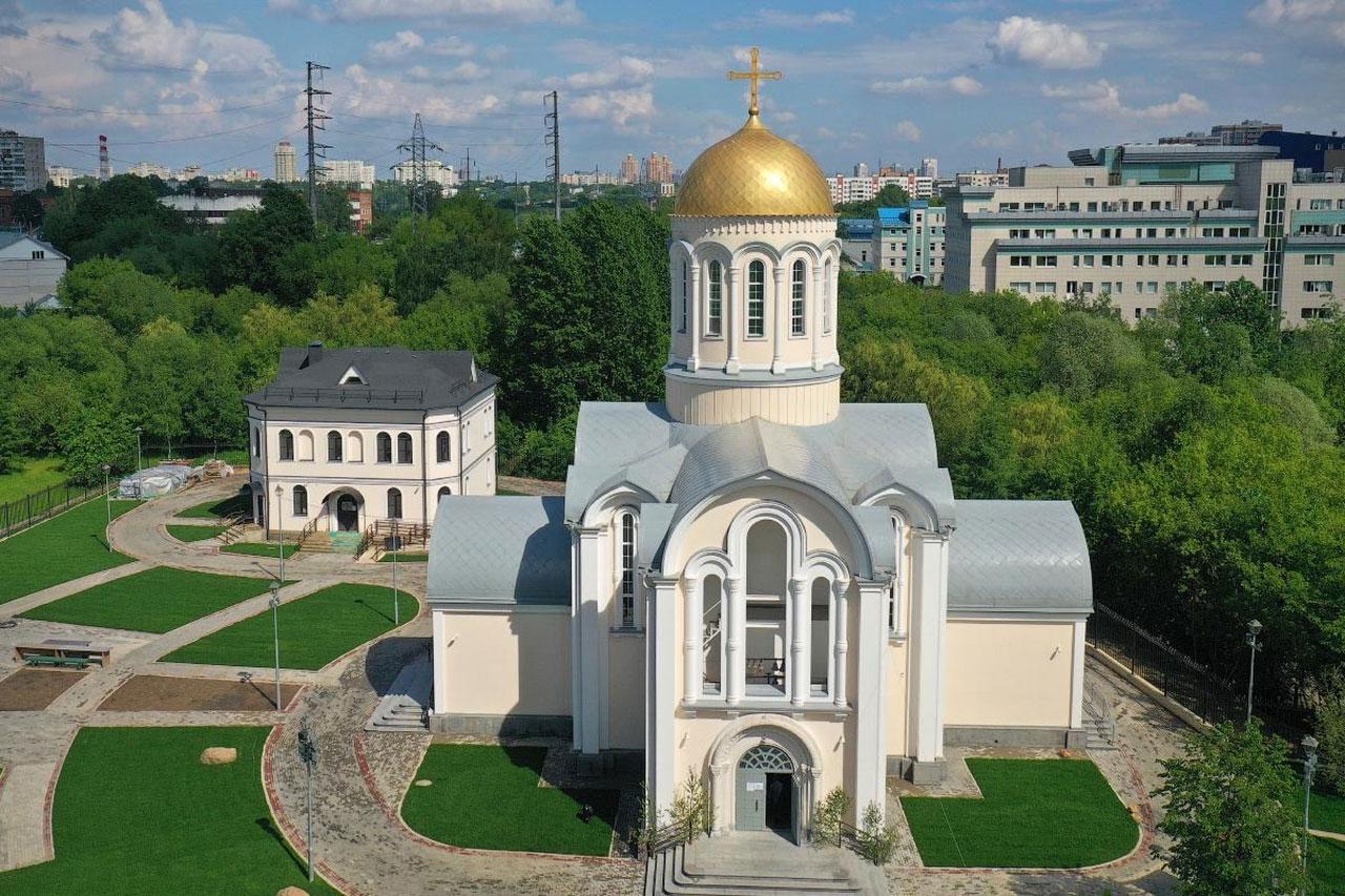 Храм прп. Сергия Радонежского в Тушине